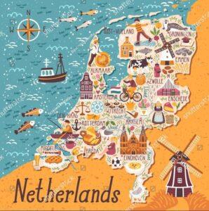 Netherland Drawing