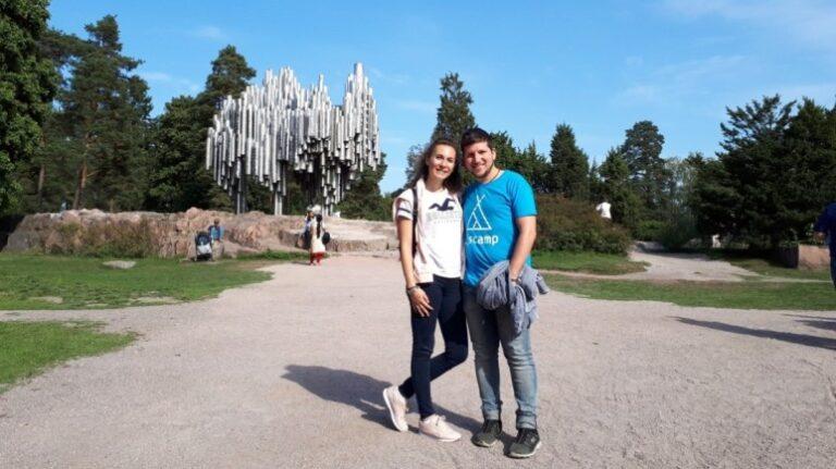 An extraordinary weekend in Helsinki - Sibelius Monument