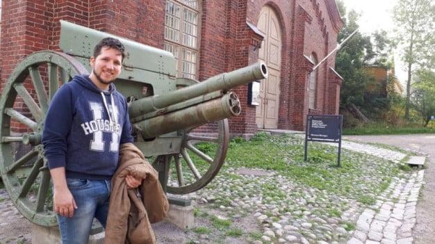 An extraordinary weekend in Helsinki - Suomenlinna -Military Museum's Manege