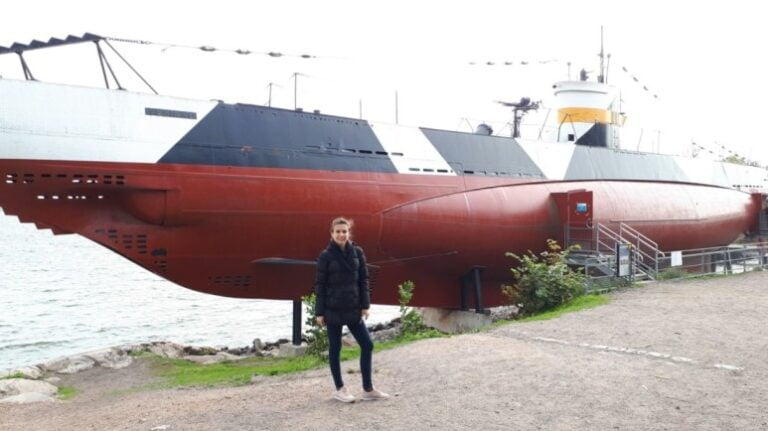 An extraordinary weekend in Helsinki - Suomenlinna -Submarine Vesikko