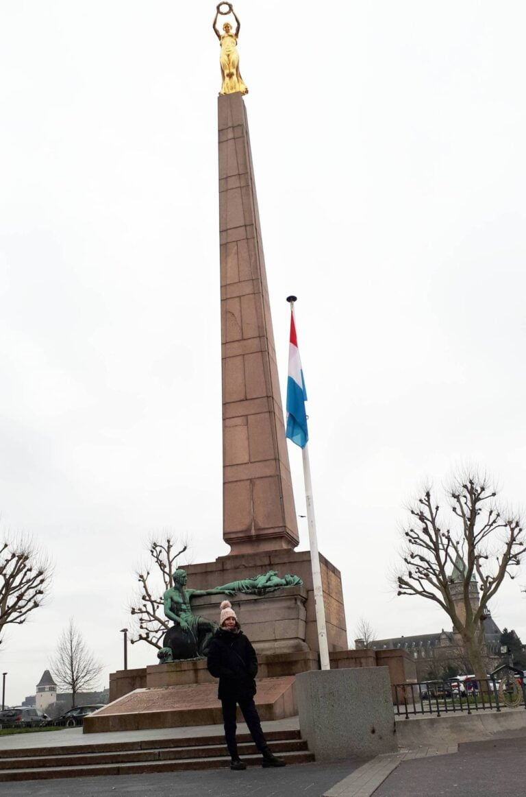How to spend one remarkable day in Luxembourg City - Monument of Remembrance