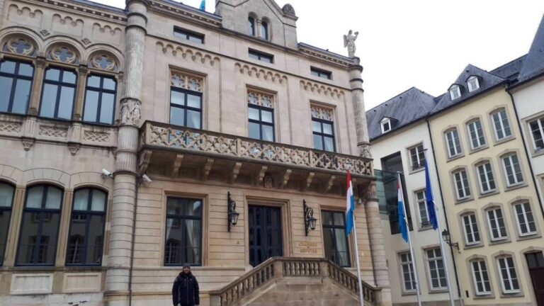 How to spend one remarkable day in Luxembourg City - Chamber of Deputies