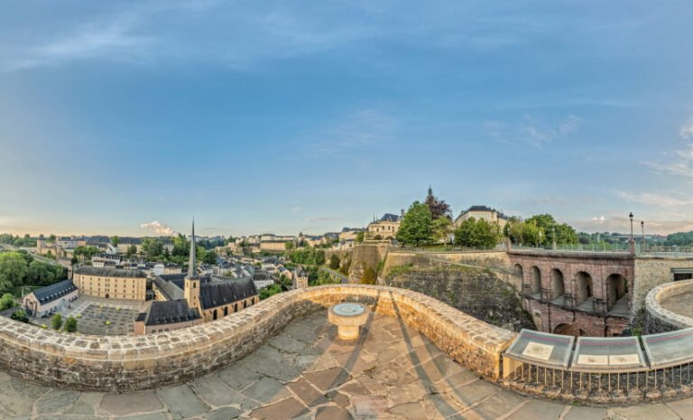 Luxembourg City -Monument of the Millennium by Luxembourg City Tourist Office