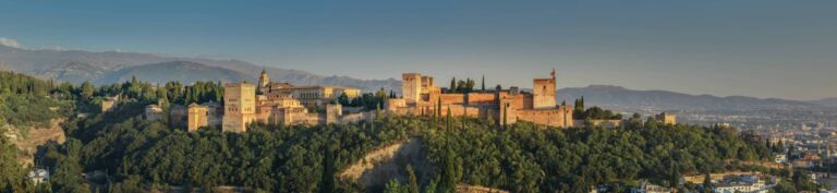 Granada - Alhambra view from Saint Nicholas viewpoint by Slaunger