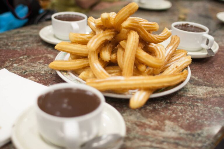 Granada - Hot Chocolate with Churros by Tim Lucas