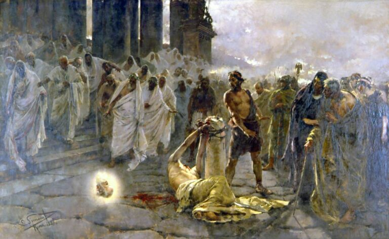 """How to get the most of Malaga - """"Beheading of Saint Paul"""" by Enrique Simonet,1887"""