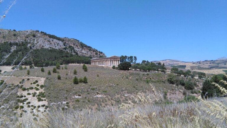 Trapani - Segesta- Doric Temple