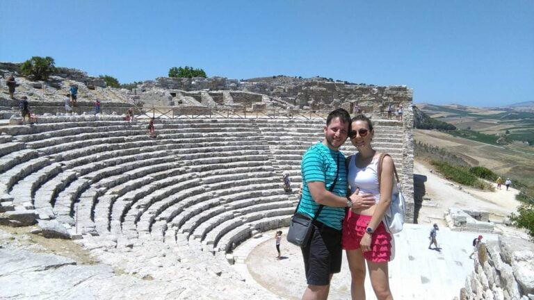 Trapani - Segesta- Amphitheatre