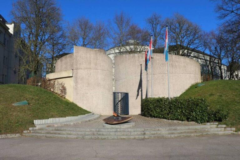 How to spend one remarkable day in Luxembourg City - National Monument of Solidarity by Jeff Croisé