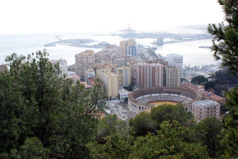 How to get the most of Malaga - View over Malaga from the Gibralfaro Castle by Dguendel