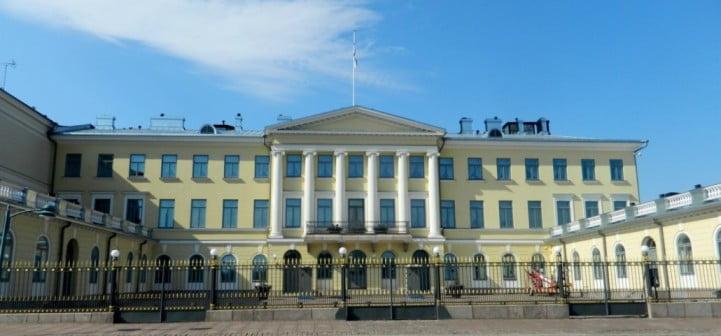 An extraordinary weekend in Helsinki - Presidential Palace by Paasikivi