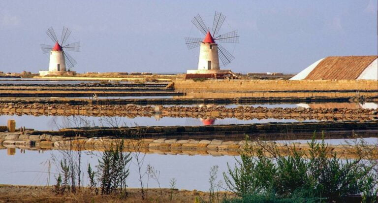 Trapani - Windmills and Salt Marshes