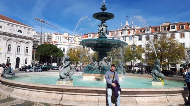 Lisbon in 2 days - Rossio Square