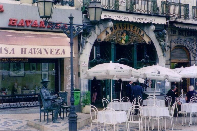 Lisbon in 2 days - Cafe a Brasileira by DIMSFIKAS