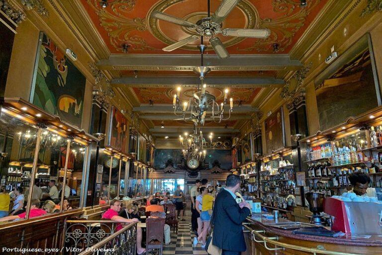 Lisbon in 2 days - Cafe a Brasileira by Vitor Oliveira