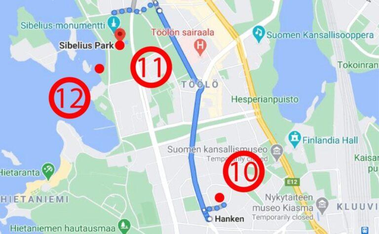 An extraordinary weekend in Helsinki - Map 2