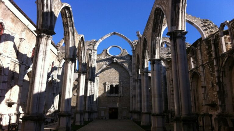 Lisbon in 2 days - Carmo Convent and Church ruins