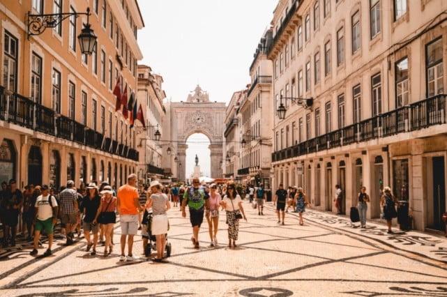 Lisbon in 2 days - Augusta Street