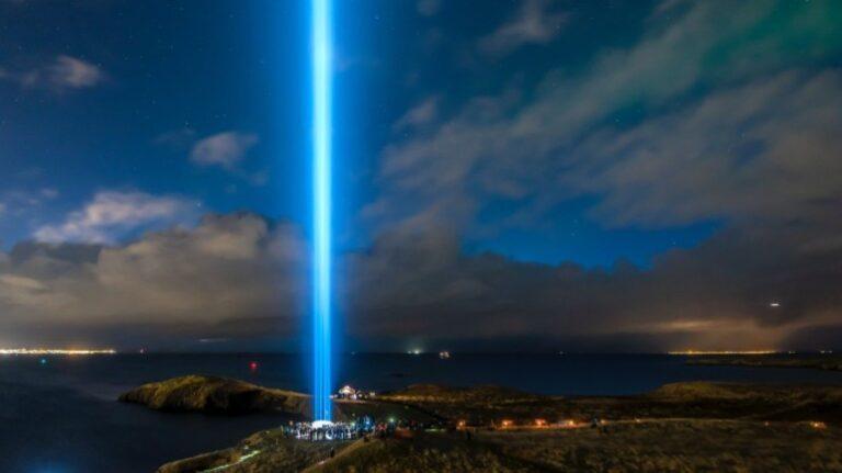 Reykjavik - Viðey Island - Imagine Peace Tower