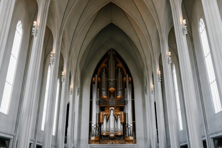 Reykjavik - Hallgrimskirkja Church- Concert Organ