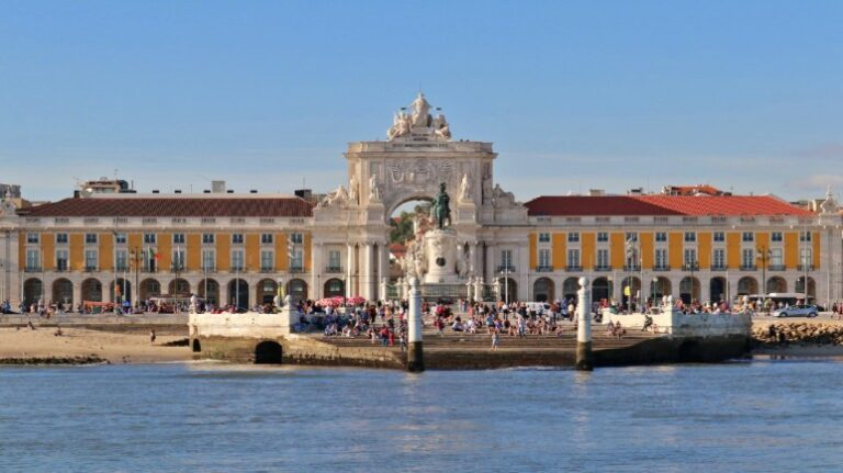 Lisbon in 2 days - Commerce Square