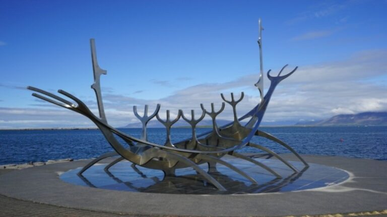 Reykjavik - Sun Voyager Sculpture