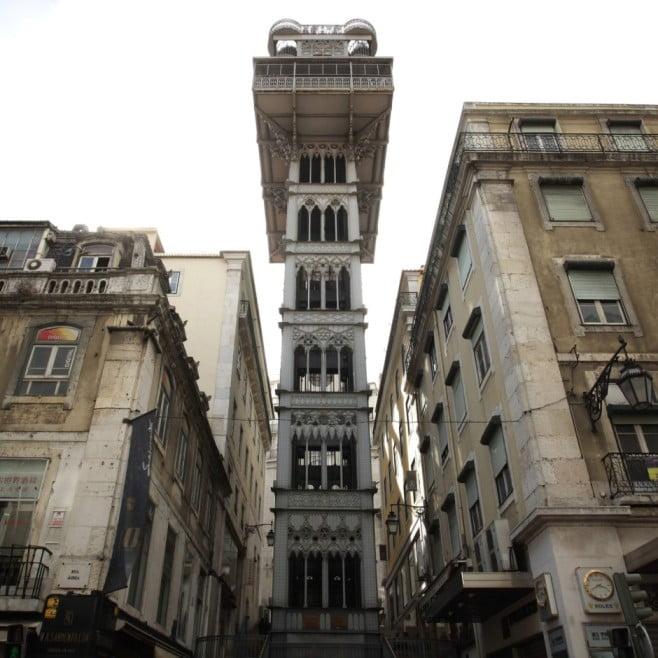 Lisbon in 2 days - Santa Justa Lift