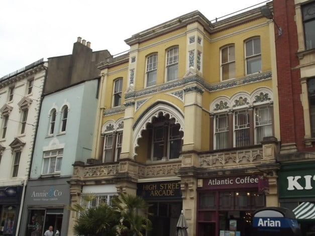 How to get the most of Cardiff in one entertaining day - High Street Arcade by Elliot Brown