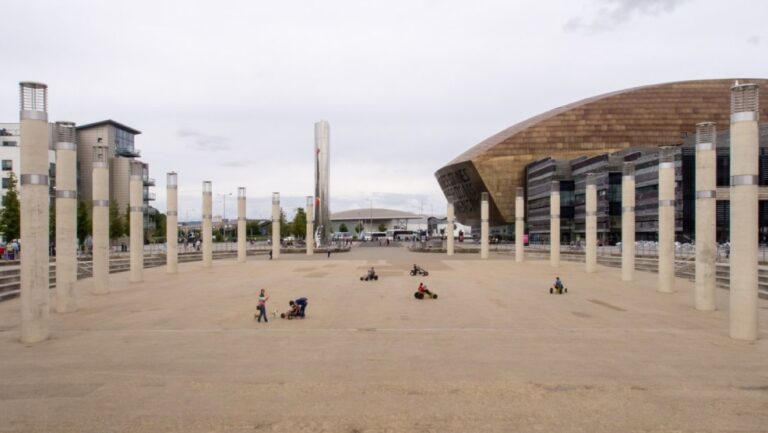 How to get the most of Cardiff in one entertaining day - Roald Dahl Plass by Ed Webster