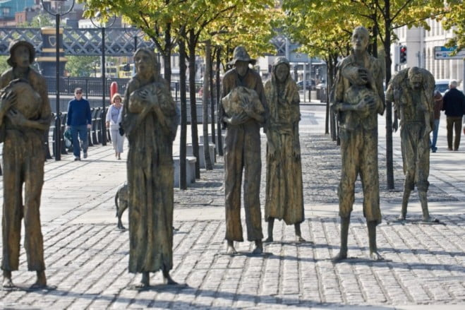 A two-day adventure in Dublin - Famine Memorial by William Murphy
