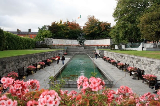 A two-day adventure in Dublin - Garden of Remembrance by Sir James