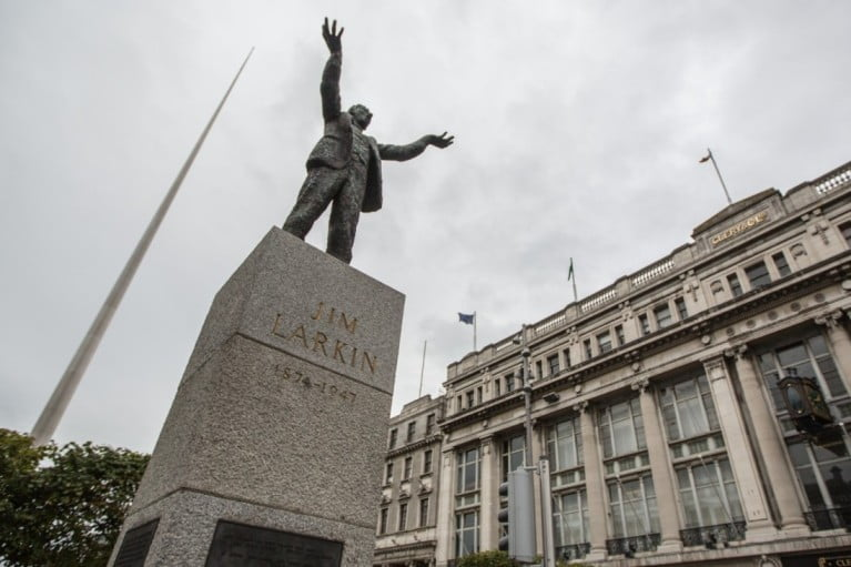 A two-day adventure in Dublin - The statue of Jim Larkin by Tony Webster