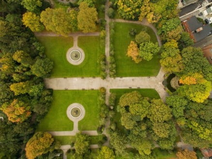 A two-day adventure in Dublin - Iveagh Gardens by dronepicr