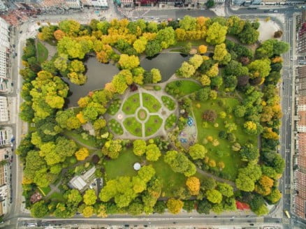 A two-day adventure in Dublin - St Stephen's Green by dronepicr