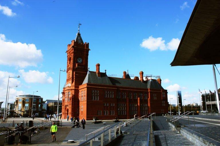 Pierhead Building by Senedd Cymru Welsh Parliament