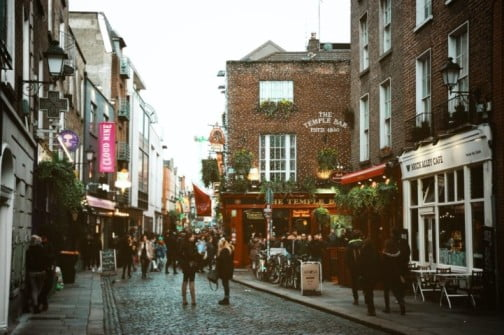 A two-day adventure in Dublin - Temple Bar