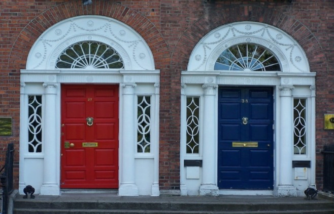 A two-day adventure in Dublin - Georgian Doors