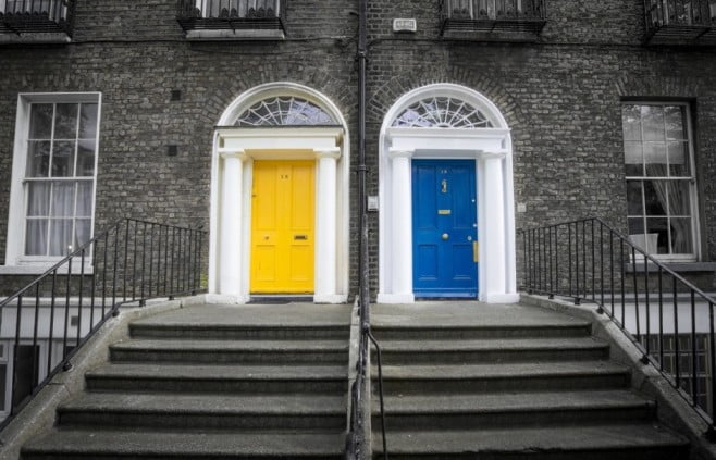 Dublin - Georgian Doors