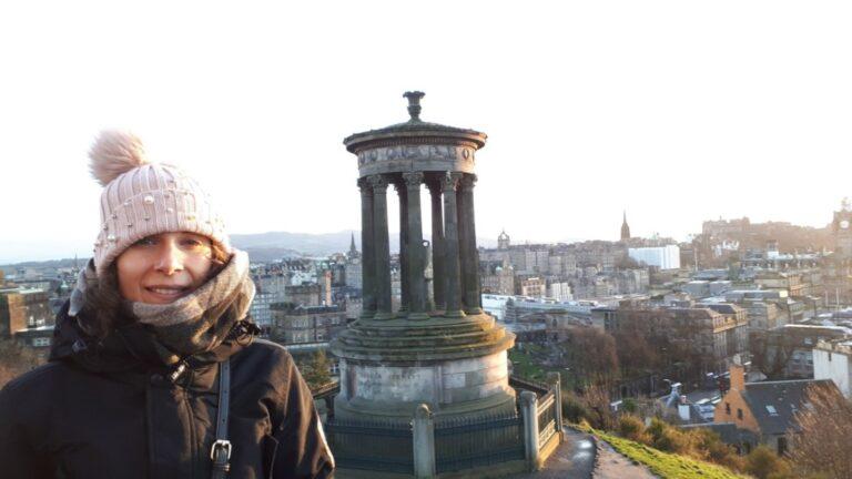 Edinburgh in 2 days - Calton Hill- Dugald Stewart Monument
