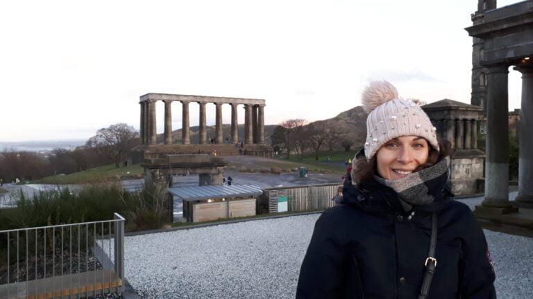 Edinburgh - Calton Hill- Scottish National Monument