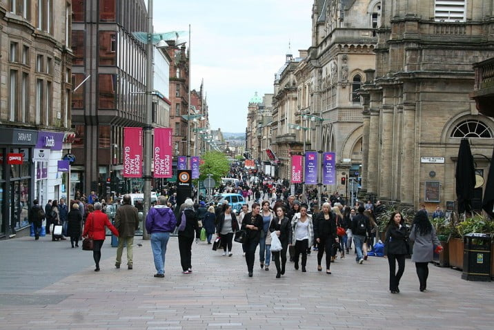 One day in Glasgow itinerary - Buchanan Street by MSeses