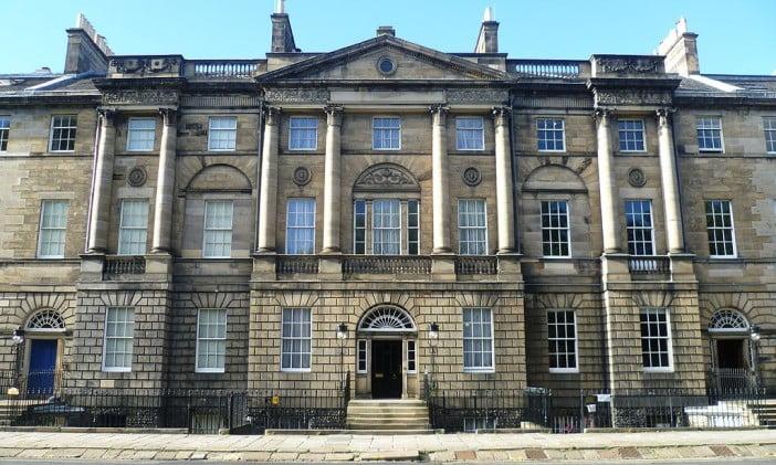 Edinburgh in 2 days - Charlotte Square - Bute House by Kim Traynor