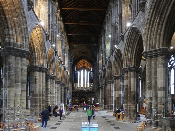 Glasgow - Glasgow Cathedral by Reinhard Müller