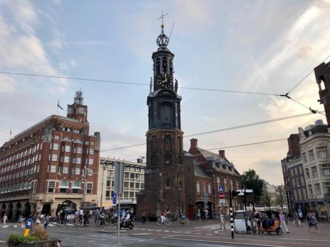 Amsterdam - Munttoren by Warren LeMay
