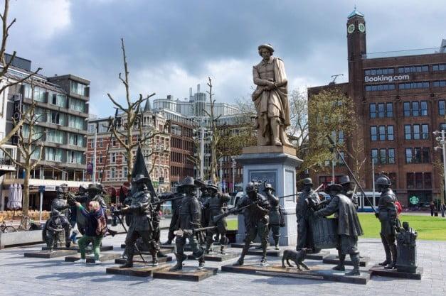 Amsterdam in 2 wonderful days - Rembrandtplein by Jean-Christophe Benoist