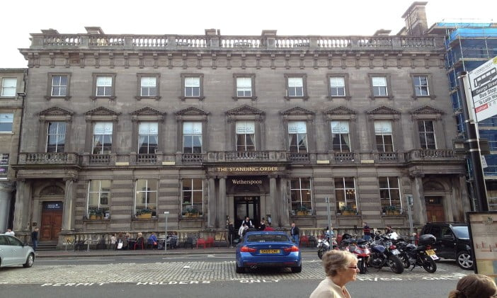 Edinburgh - The Standing Order by SylviaStanley