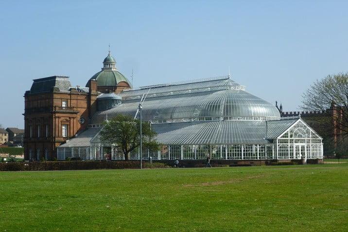 Glasgow - Glasgow Green - Winter Gardens by Kim Traynor