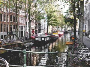Amsterdam - Houseboats