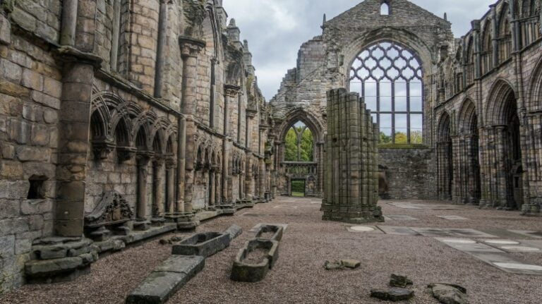 Edinburgh - Holyrood Abbey