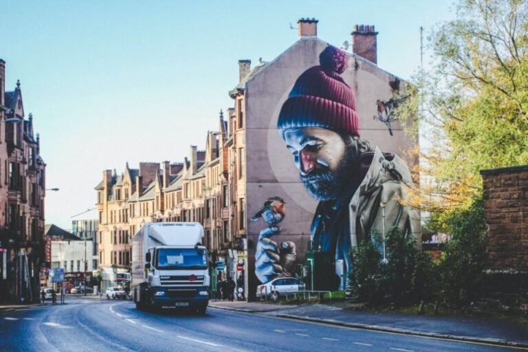 One day in Glasgow itinerary - St Mungo Mural
